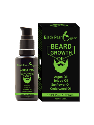 Organic beard growth oil