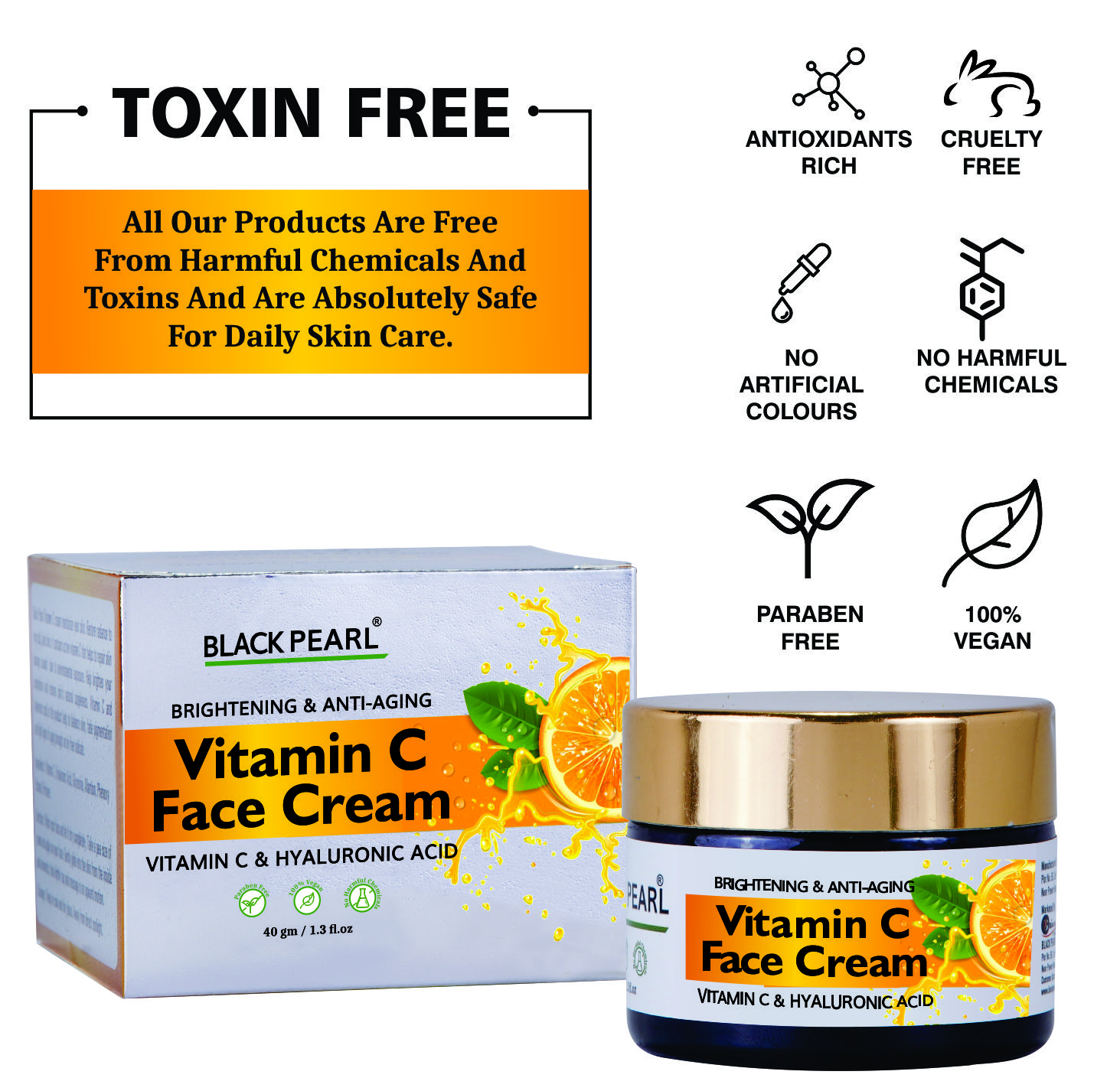 Cosmetic Cream Manufacturer Toxin Free