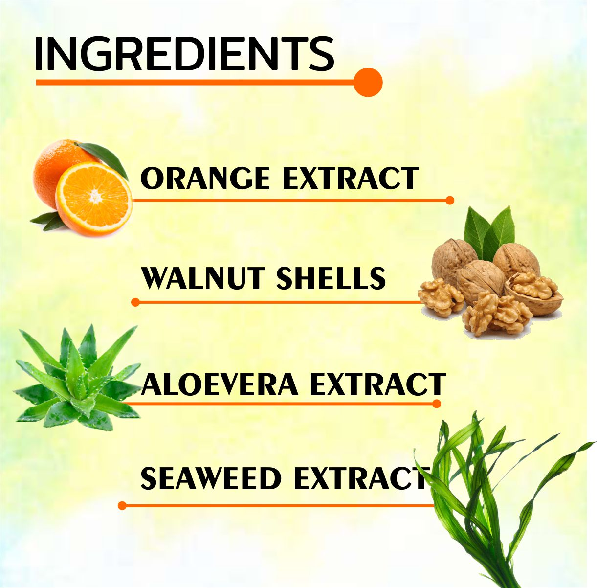 Face Hydrating Complete Kit VITAMIN C SCRUB WASH INGREDIENTS