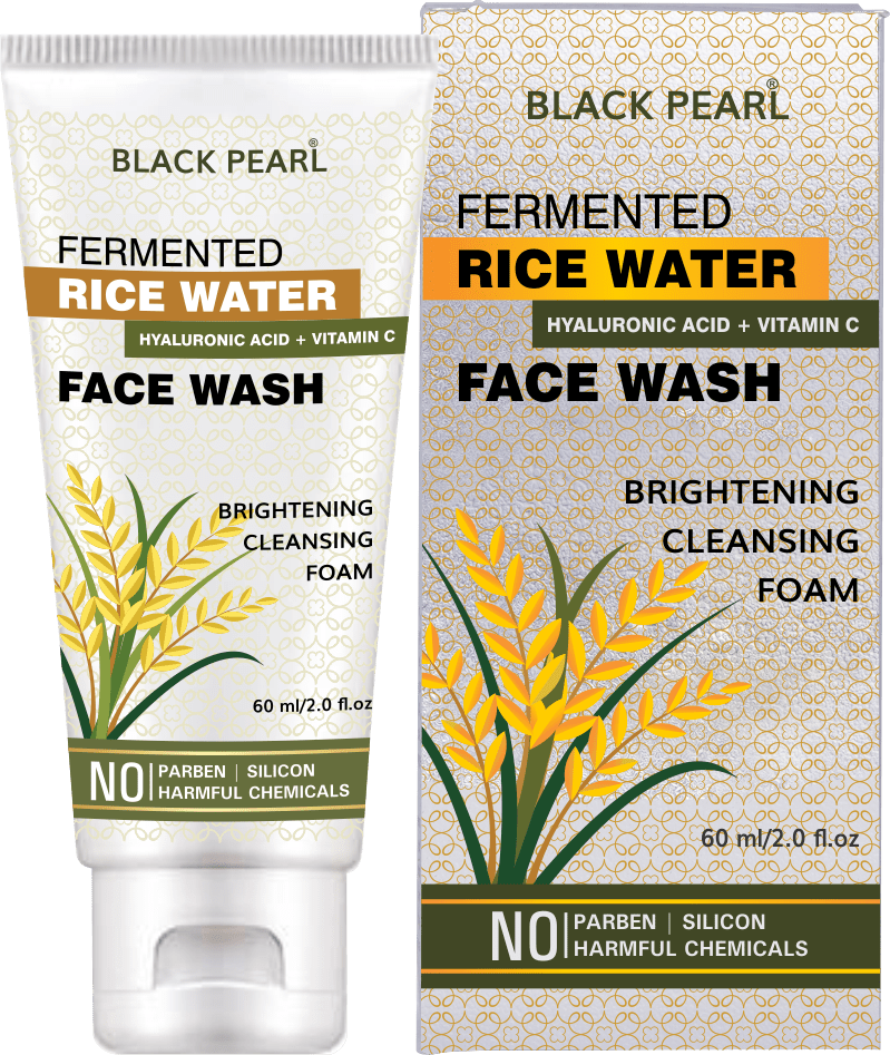 Black Pearl Fermented Rice Water Face Wash