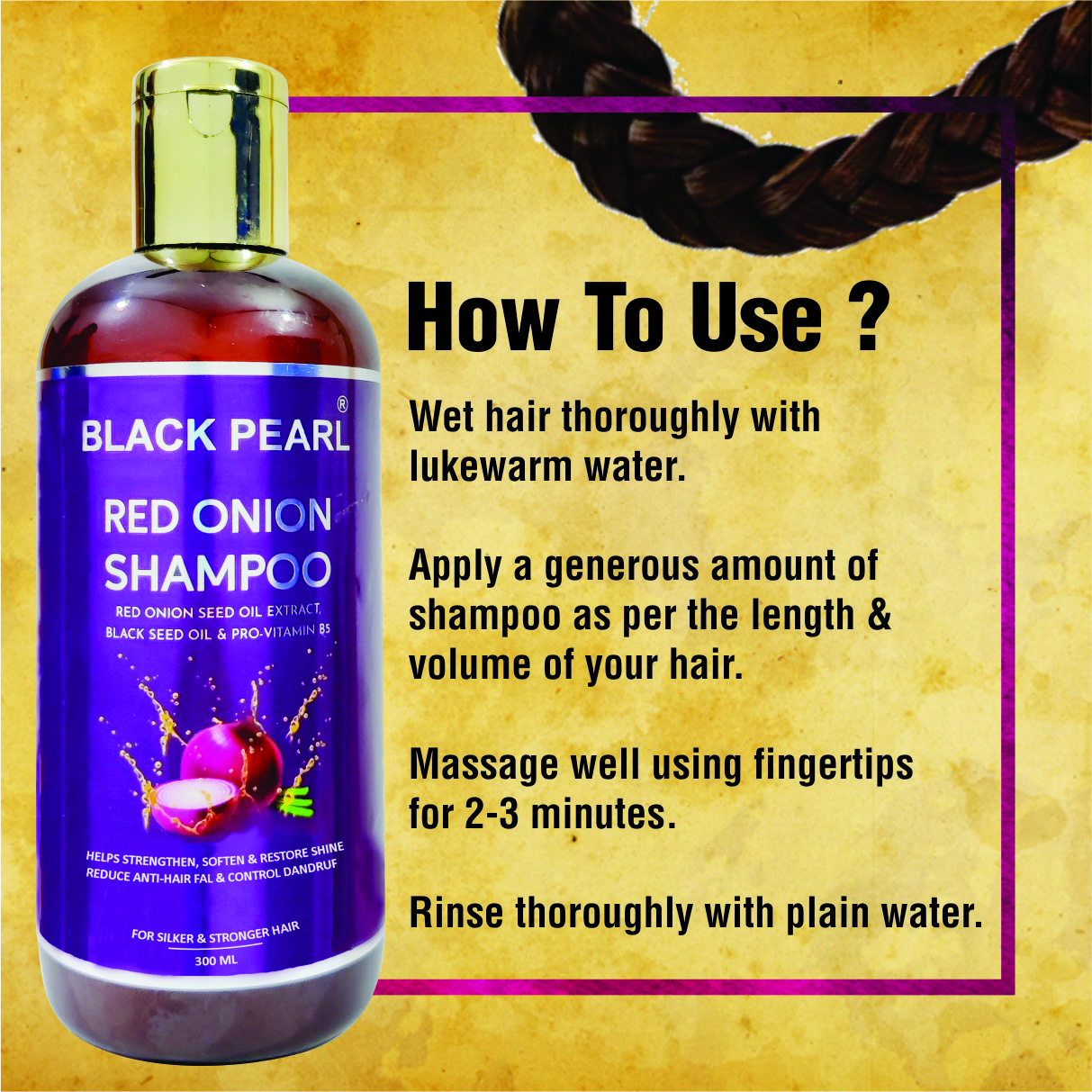 Cosmetic Manufacturers Amravati red onion shampoo how to use