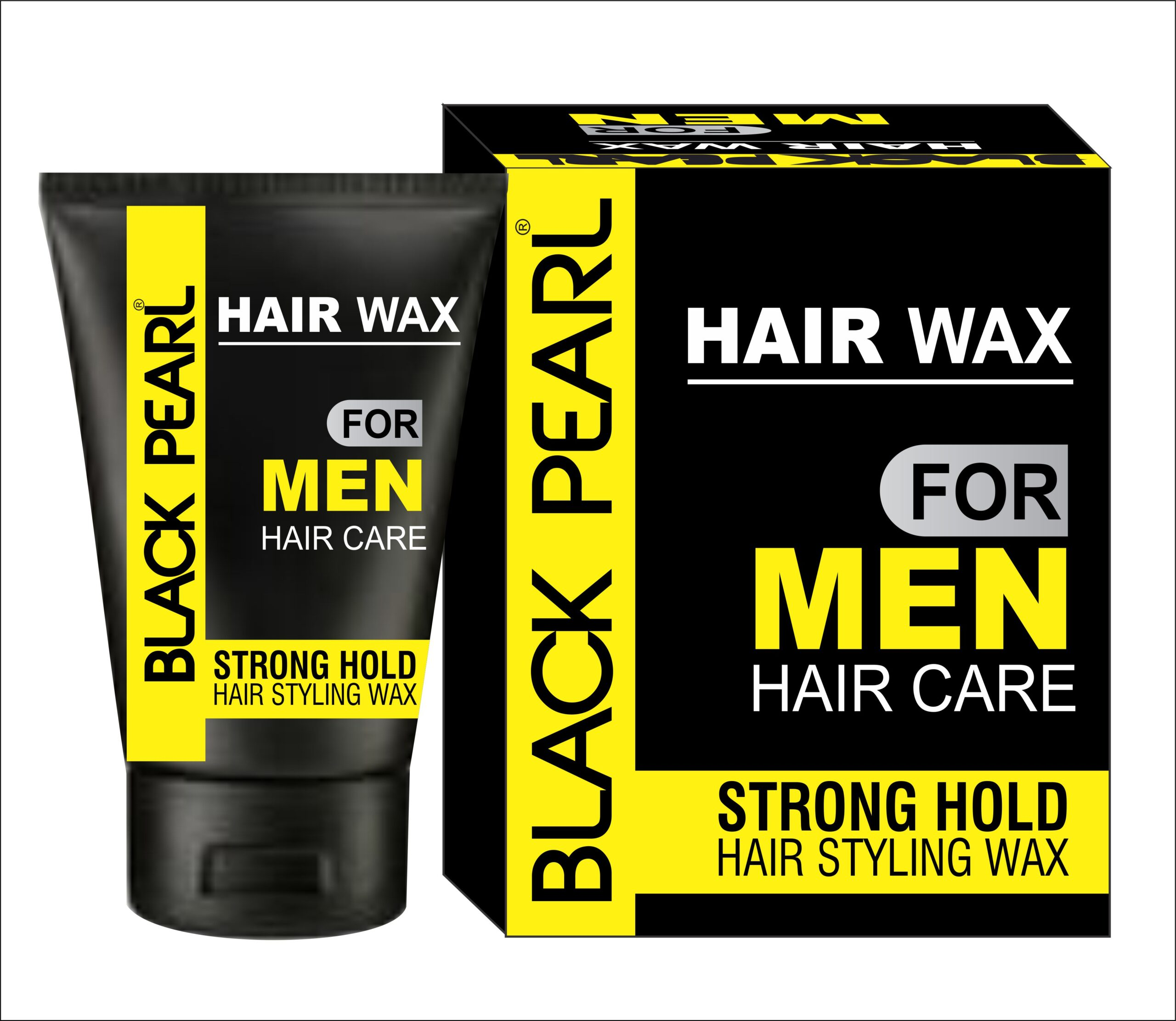 black pearl hair wax