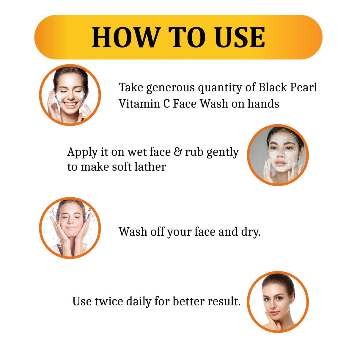 Vitamin C Face Wash How To Use