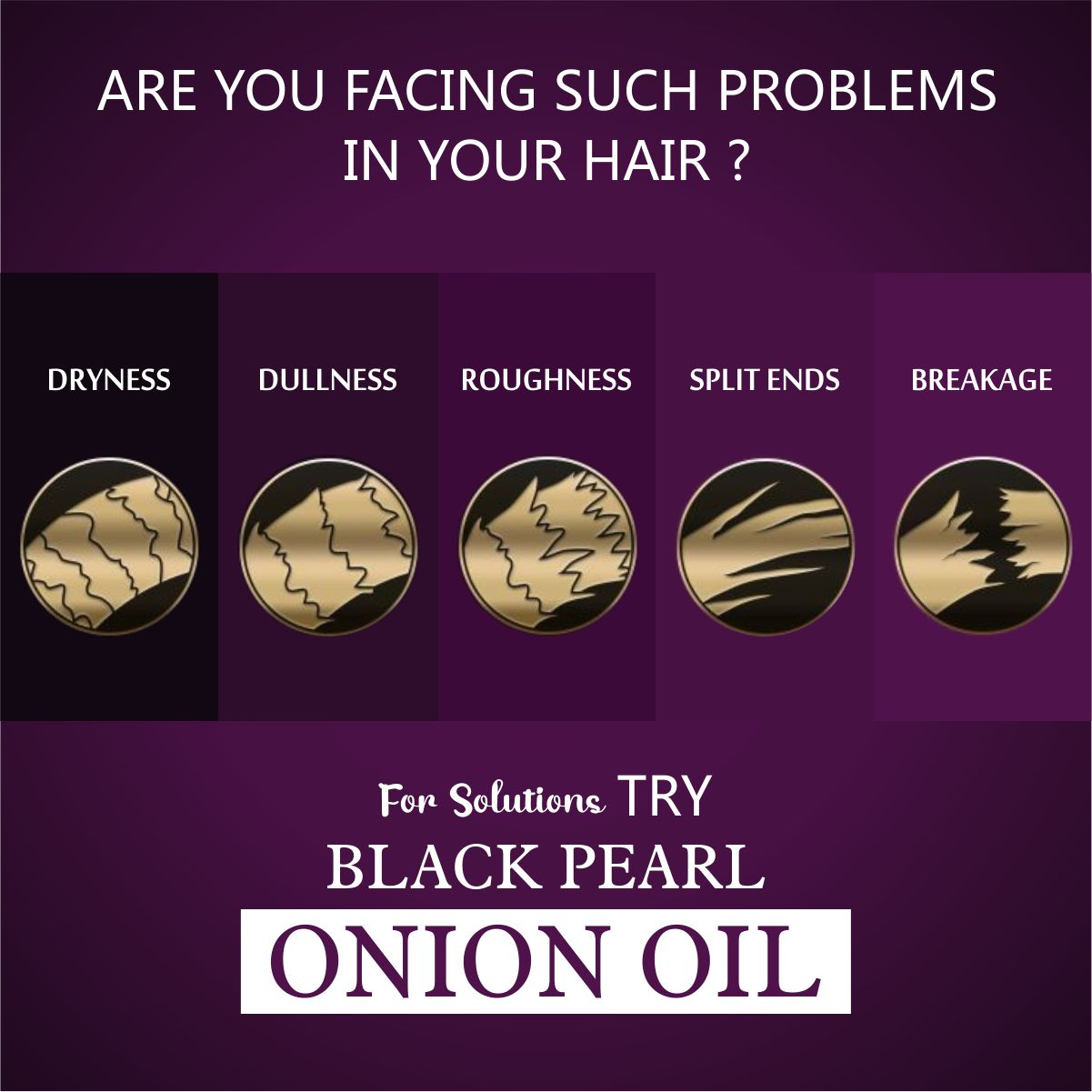 Onion Oil are you facing such problem in your hair