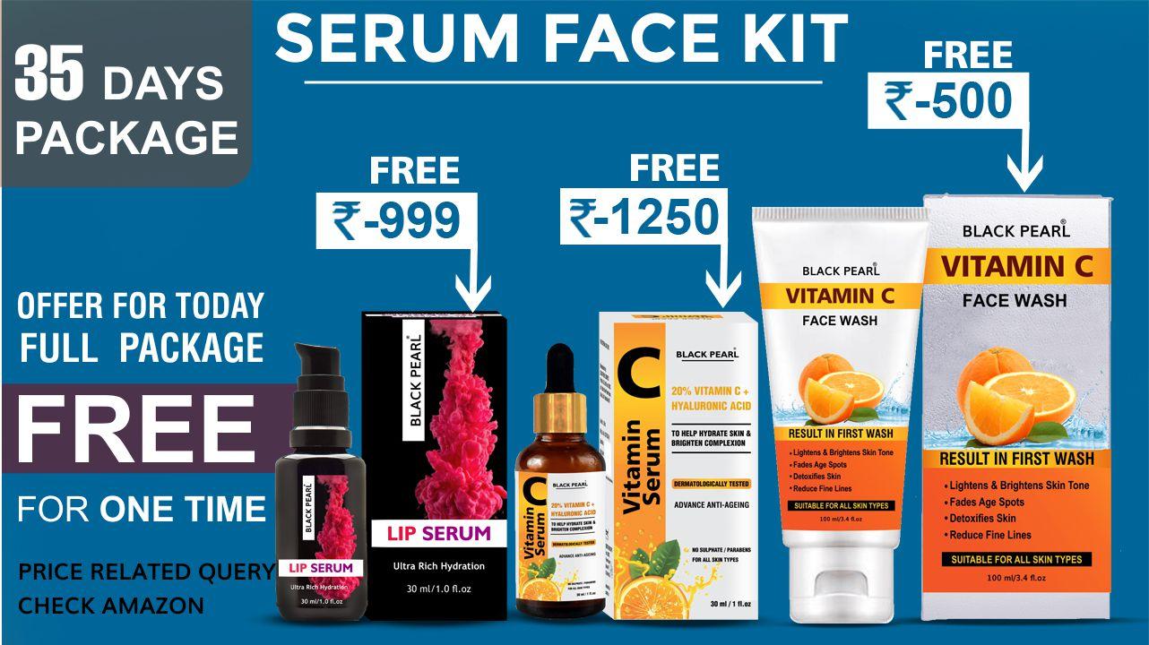 Serum face kit