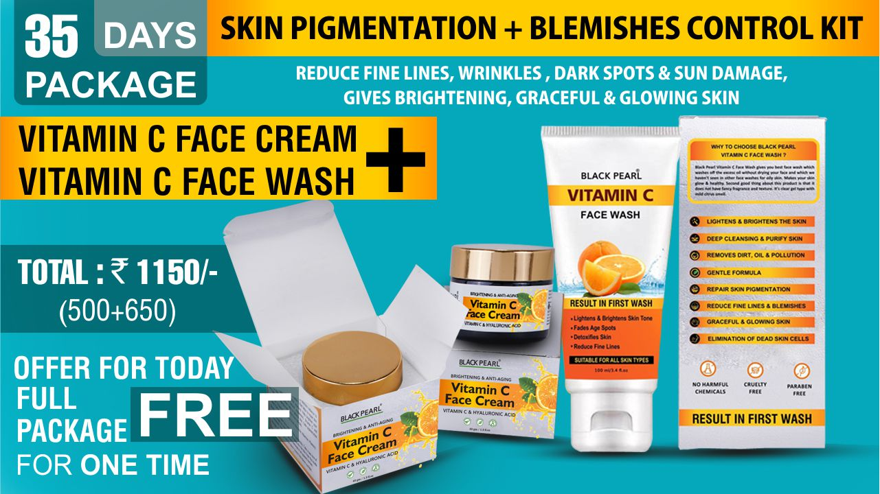 Vitamin C Blemishes Control Kit