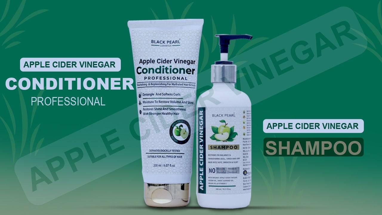 Apple Cider Vinegar Hair Kit conditioner professional shampoo