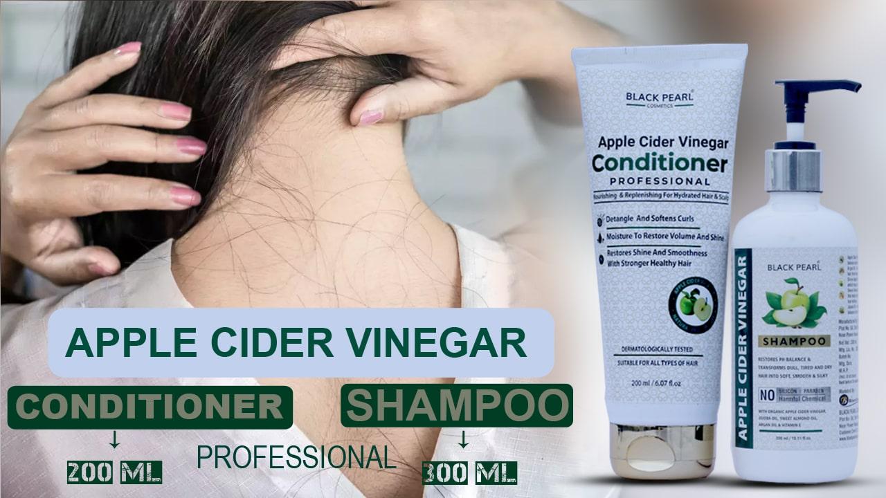Apple Cider Vinegar Hair Kit conditioner shampoo