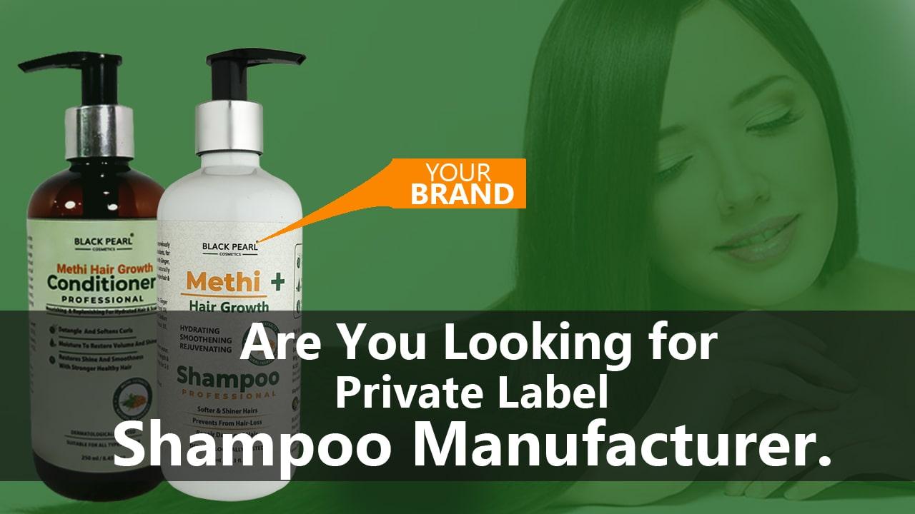 Cosmetic Manufacturers Baddi Methi+ Hair Growth Shampoo Manufacturer
