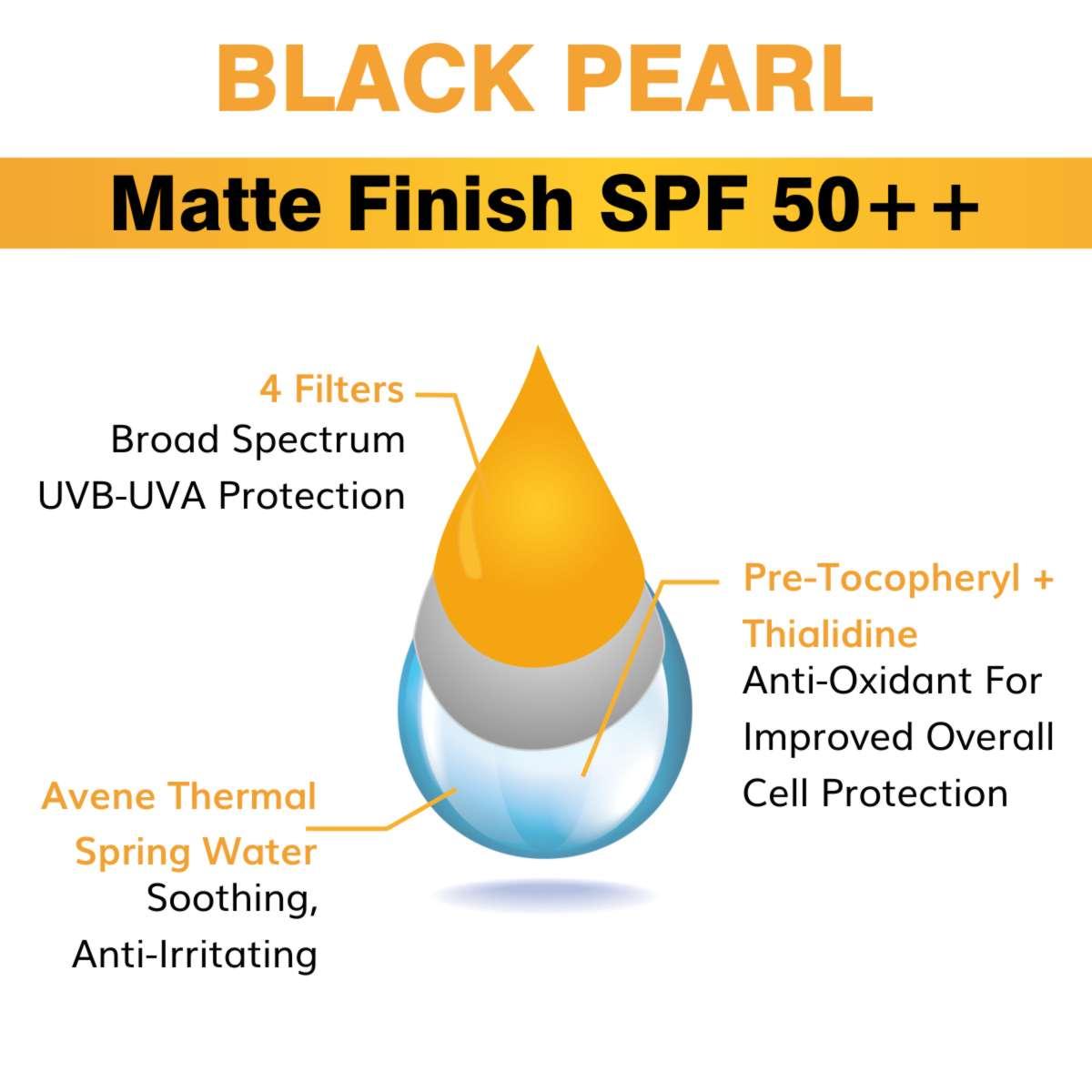 Cosmetic Manufacturer Kolkata Black Pearl Matte Finish SPF 50++