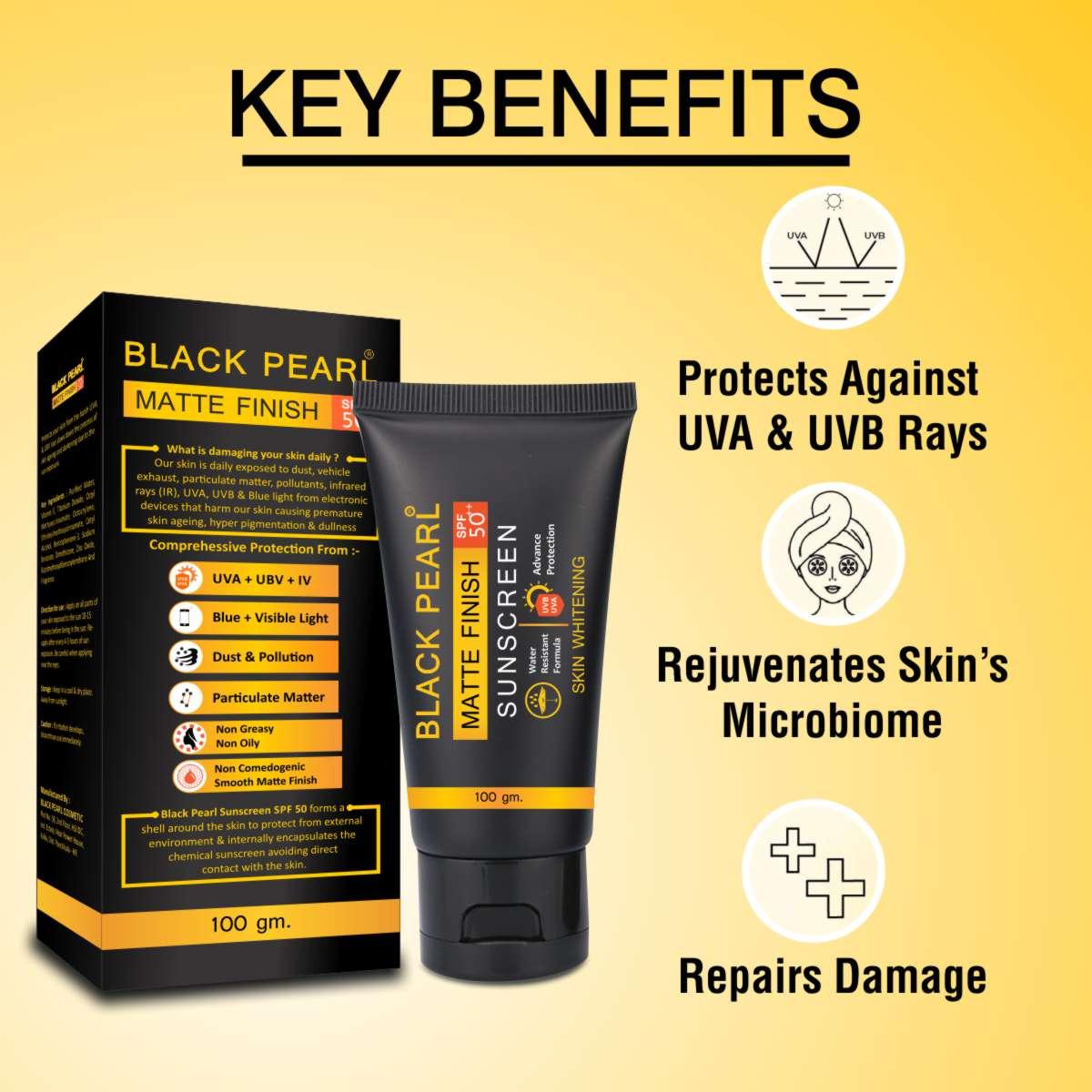 Cosmetic Manufacturer Kolkata Matte Finish Sunscreen SPF 50++ Key Benefits